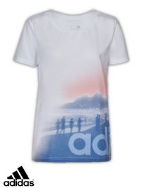 Women's Adidas IPANEMA BEACH Tee (AI6135) (Option 3) x9: £7.95